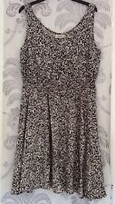 Women's Black And White Dress In Size 12