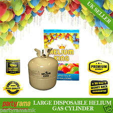 2x Party Birthday Disposable Helium Gas Cylinder Canister Fills 50 Balloons