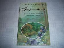 A Woman's book of Insperations Compiled by Maggie Pinkney Book