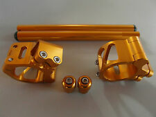 Lenkerschellen Lenker Set Honda CBR 929 954 RC51 gold 50mm