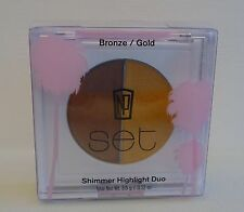 "NP SET NAPOLEON PERDIS SHIMMER HIGHLIGHT DUO ""Bronze/Gold"" BRAND NEW"