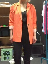 Oversized Blazer, Gr. S / 36, Casual, Orange, Cool, Blogger Style, River Island