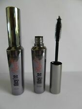 2 x BENEFIT THEY RE REAL MASCARA NEW NO BOXES FULL SIZE 8.5g Black