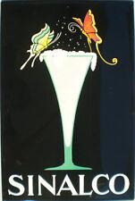 Sinalco - Glas Blechschild, 40 x 60 cm, gewölbt