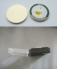 U.S. MASTERS 2011  WON BY CHARL. SCHWARTZEL  GOLF BALL MARKER & CASE