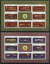 ASERBAIDSCHAN AZERBAIJAN 2011 Museum Kunst Waffen Art Weapons 866-881 **  MNH