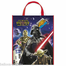 2 Star Wars Classic Trilogy Children's Party Plastic Treat Gift Tote Bags