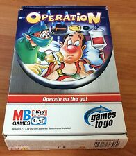 2005 Board Game - Operation - Operate on the go!  - 100% Complete