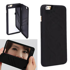 Flip Mirror Hard Cases With Wallet Card Holder Stand Cover For iPhone 6 6S Plus