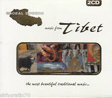 GLOBAL SOUNDS Music From Tibet 2 CD - New