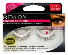 REVLON FALSE EYELASHES EYELASH 91081 Black Brown