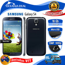 [NEW SEALED BOX] SAMSUNG GALAXY S4 i9515 i9505 4G LTE UNLOCKED PHONE BLACK OZWTY