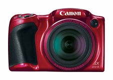 NEW * Canon PowerShot SX410 IS 20.0MP HD Digital Camera - 40X ZOOM - Red RRP 247