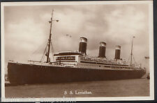 Shipping Postcard - United States Lines - S.S.Leviathan Liner  BH6260