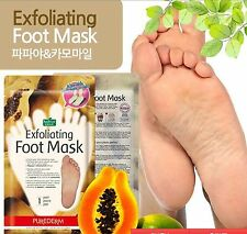 """exfoliating foot mask,""""SOCK-TYPE' calluses,dead skin cells,wearable mask,1 pair"""