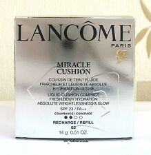 Lancome Miracle Cushion Compact Refill- 14g - Beige Peche - 03 - Boxed