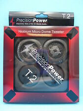 "High Quality Precision Power T.2 1""Tweeters Built In Cross Over 100w 4ohm"