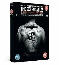 The Expendables blu ray Steelbook - 3 disc set