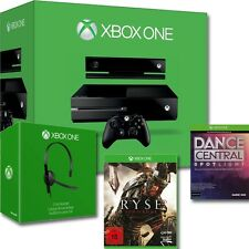 MICROSOFT XBOX ONE 500GB+KINECT+RYSE+DANCE&CENTRAL-DOWNLOAD-CARD+HEADSET