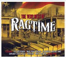 THE VERY BEST OF RAGTIME - VARIOUS ARTISTS (NEW SEALED 2CD)