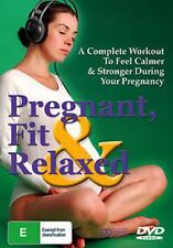 Pregnant, Fit & Relaxed (DVD) R4 Brand New Sealed Free Shipping