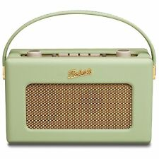 Roberts Revival RD60 Portable DAB FM RDS Digital Retro Radio Leaf Green