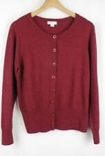 ☆ Monsoon Size 16 Cardigan Red Claret Immaculate