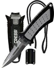 Cressi Lima Stainless Steel Scuba Dive Knife