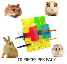 CRITTERS CHOICE HAMSTER RABBIT GUINEA PIG WOODEN PLAY CHEW CAGE TOY TOWER 31071