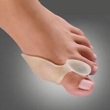 1 Paar Zehenspreizer Zehenkorrektur Hallux Valgus Schiene Ballenschutz für Fuß