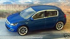 PEUGEOT 308 GT 1:58 (Blue) Majorette MIP Passenger Diecast Car