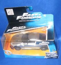 FAST & FURIOUS MOVIE BRIAN'S NISSAN GT-R (SILVER) DIE CAST COLLECTIBLE CAR