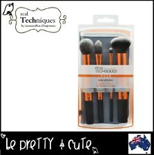 REAL TECHNIQUES CORE COLLECTION Kit 4 Brush New Packaging 2016 Free AU Shipping