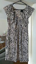 H&M dress leopard print