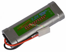 7.2V 5300mAh Ni-MH Rechargeable Battery RC Tamiya NEW