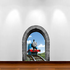 Thomas The Tank Engine Multi Colour Wall Art Sticker Boy Bedroom Decal Graphic 2