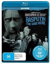 RASPUTIN - THE MAD MONK (DVD/BLU-RAY 2 DISC SET) BRAND NEW!!! SEALED!!!