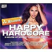 XCLUSIVE HAPPY HARDCORE - VARIOUS ARTISTS - NEW 2008 MIXED COMPILATION 3CD SET