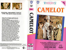 CAMELOT -Richard Harris Vanessa Redgrave -VHS -PAL -NEW - Never played! - RARE!!