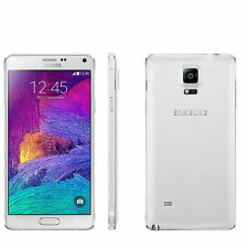 "New Samsung Galaxy Note 4 N9100 GSM Factory Unlocked 5.7"" 16GB Dual SIM White"