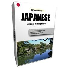 LEARN TO SPEAK JAPANESE LANGUAGE TRAINING COURSE PC DVD NEW