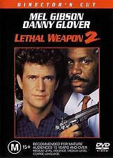 LETHAL WEAPON 2 - BRAND NEW SEALED R4 DVD (MEL GIBSON, DANNY GLOVER, JOE PESCI)