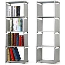 4 Tier Children Bookcase Bookshelf Kids Narrow/Tall Storage Shelves Display Unit