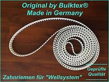 Original by Bulktex® für Wellsystem Zahnriemen Relex Medical Hydrojet Profi JK B