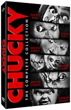 CHUCKY Complete 1 2 3 4 5 6 Movie Collection Childs Play Boxset NEW DVD
