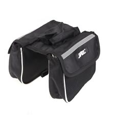 Cycling Bike Frame Pannier Saddle Front Bag Double Sides Outdoor Traveling SP