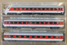 FLEISCHMANN 5100 5101 5103 K RAKE x3 DB IC INTERCITY KONTROLLE 2nd 1st COACH ng