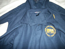 KCC 2 Girls Uniform PoloS SZ MED  BLUE Long Sleeve BY PORT AUTHORITY.RE $16.99