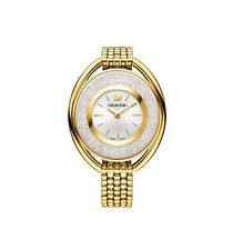 Swarovski Watch 5200339 Crystalline Oval Gold Bracelet, Swiss Made RRP $699