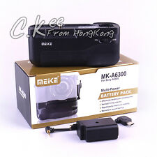 Meike A6300 Vertical Multi Power Battery Hand Grip For Sony A6300 A6000